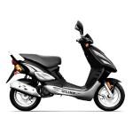 Un modèle de scooter 50cc